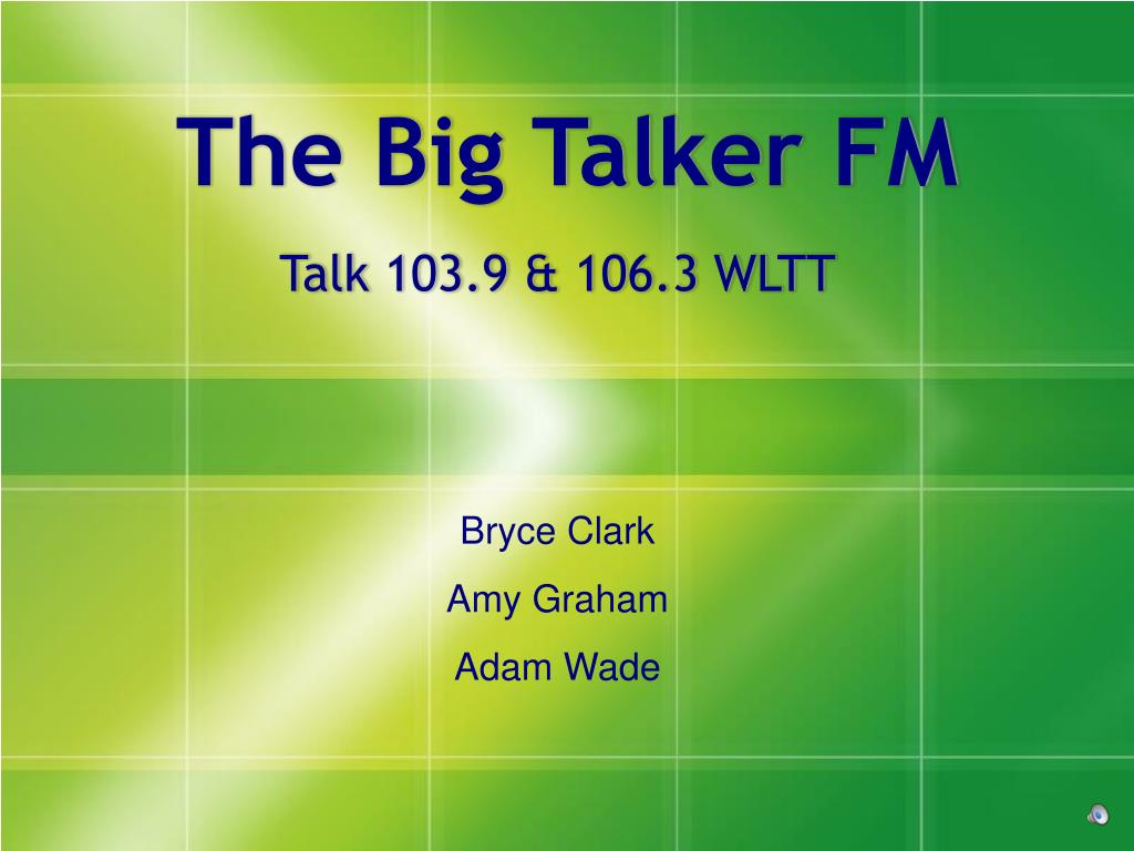 the big talker fm l.