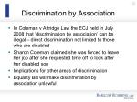 discrimination by association