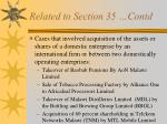 related to section 35 contd16