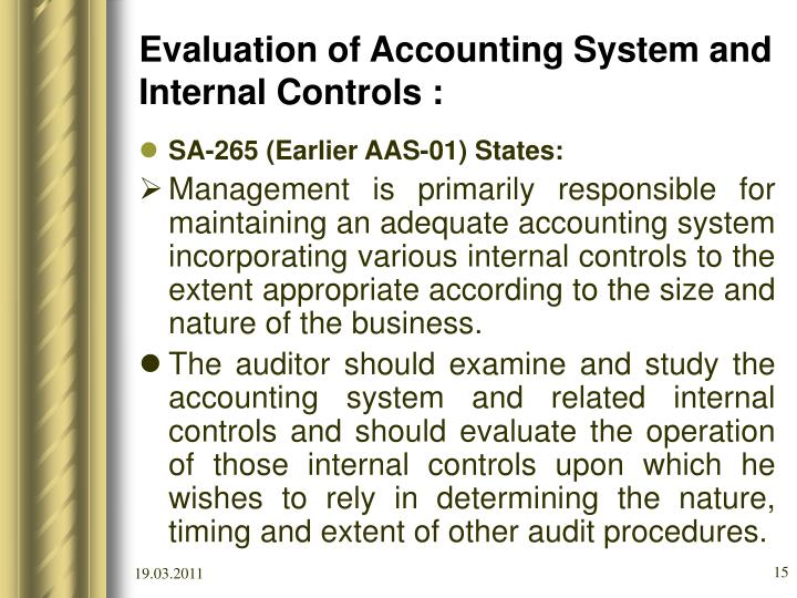 the audit procedures Inventory audit procedures december 20, 2017 / steven bragg if your company records its inventory as an asset, and it undergoes an annual audit , then the auditors will be conducting an audit of your inventory.