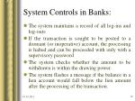 system controls in banks19