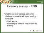 inventory scanner rfid