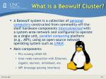 what is a beowulf cluster