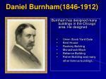 daniel burnham 1846 1912