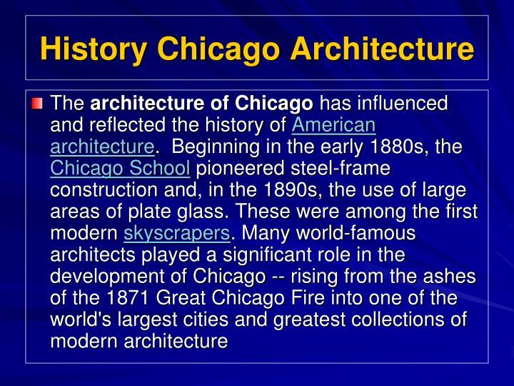 History chicago architecture2