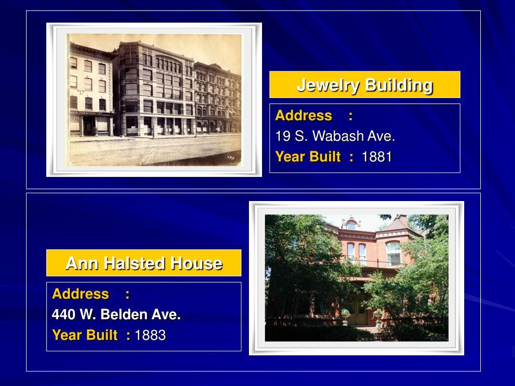 Jewelry Building