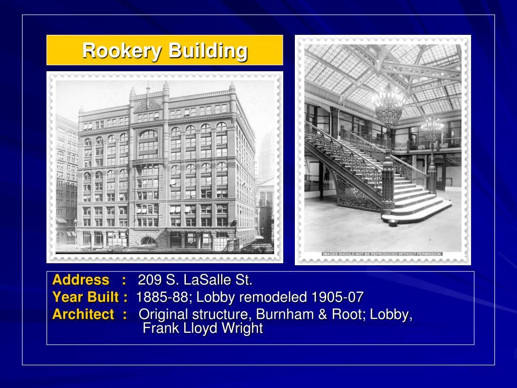 Rookery Building