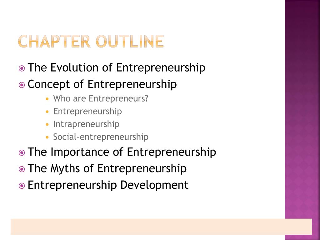 PPT - Introduction to Entrepreneurship PowerPoint