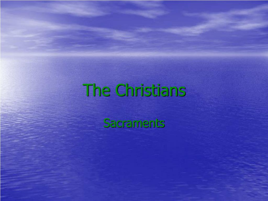 the christians l.