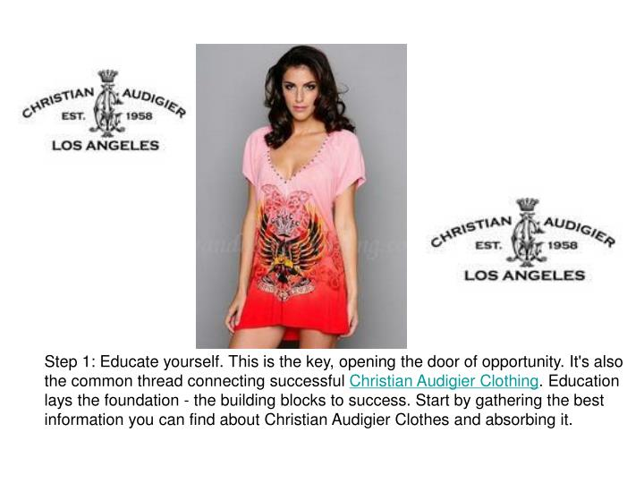 Step 1: Educate yourself. This is the key, opening the door of opportunity. It's also the common thr...