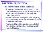 baptism definition4
