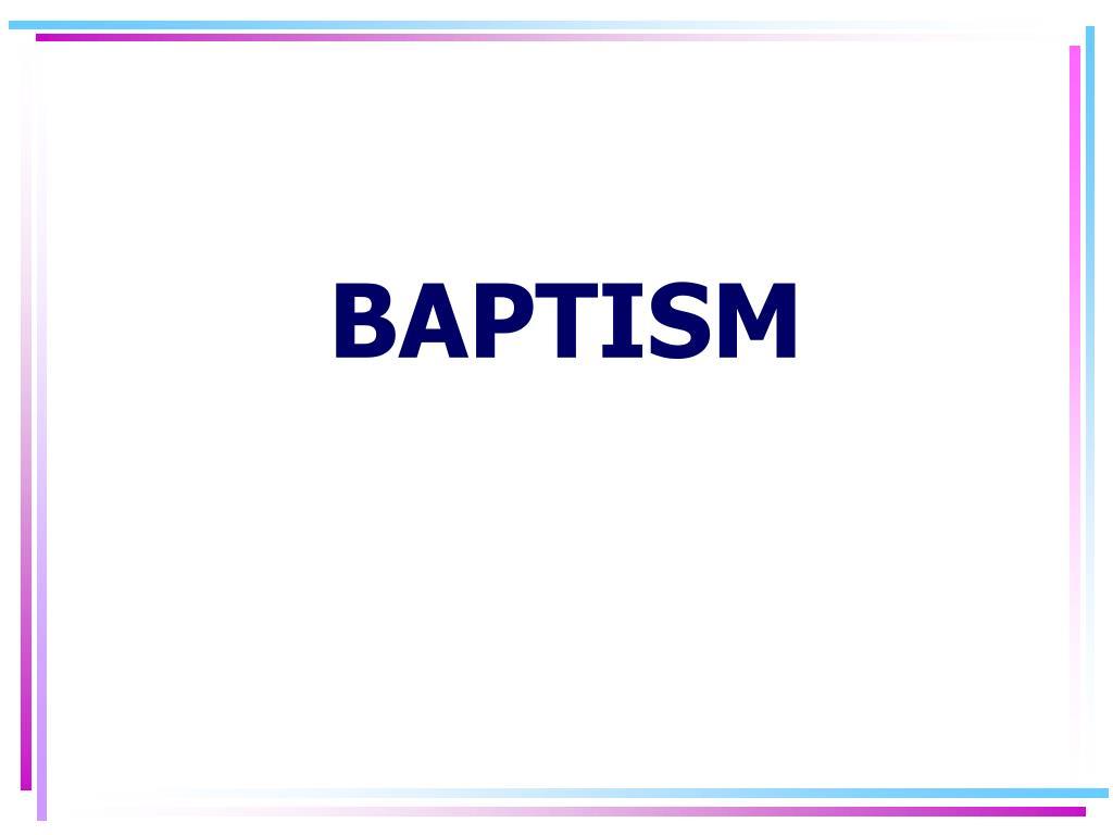 baptism l.