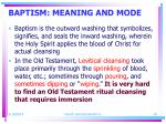 baptism meaning and mode18