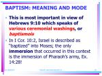 baptism meaning and mode19