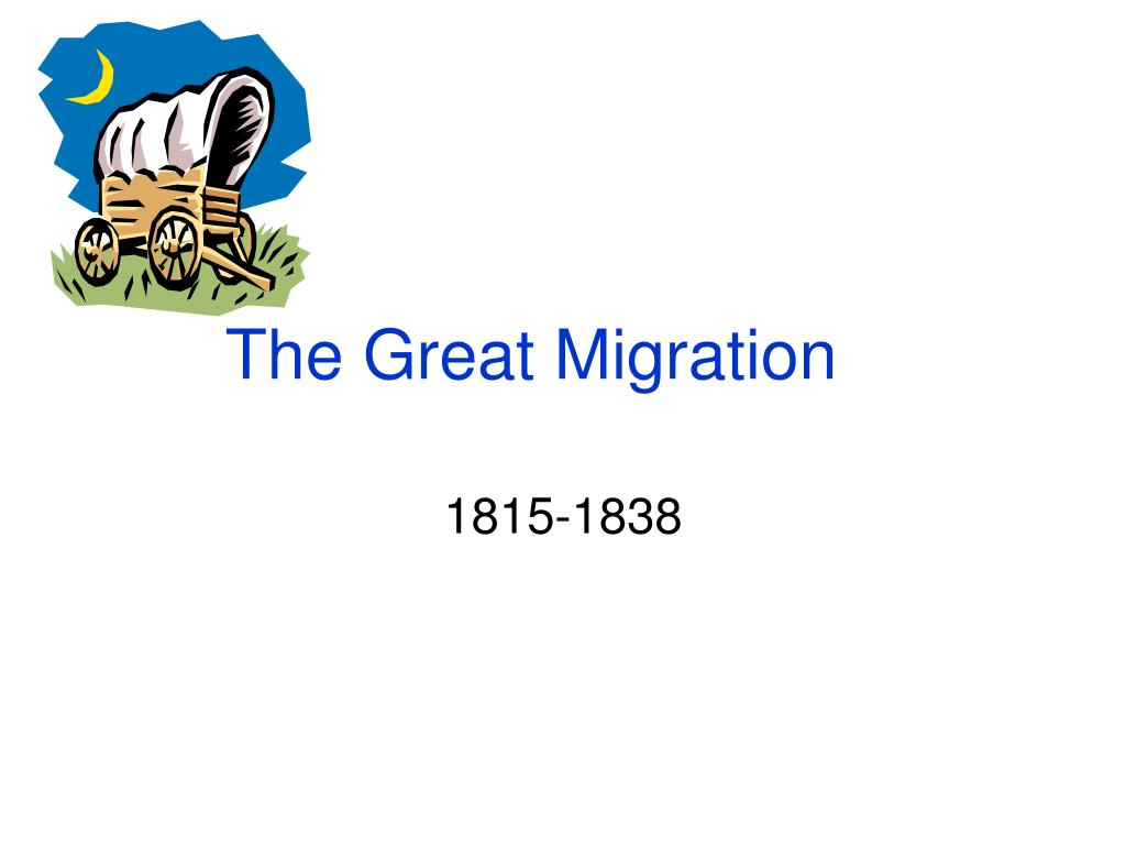 the great migration l.