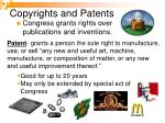 copyrights and patents11