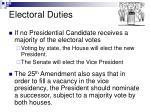 electoral duties
