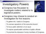 investigatory powers