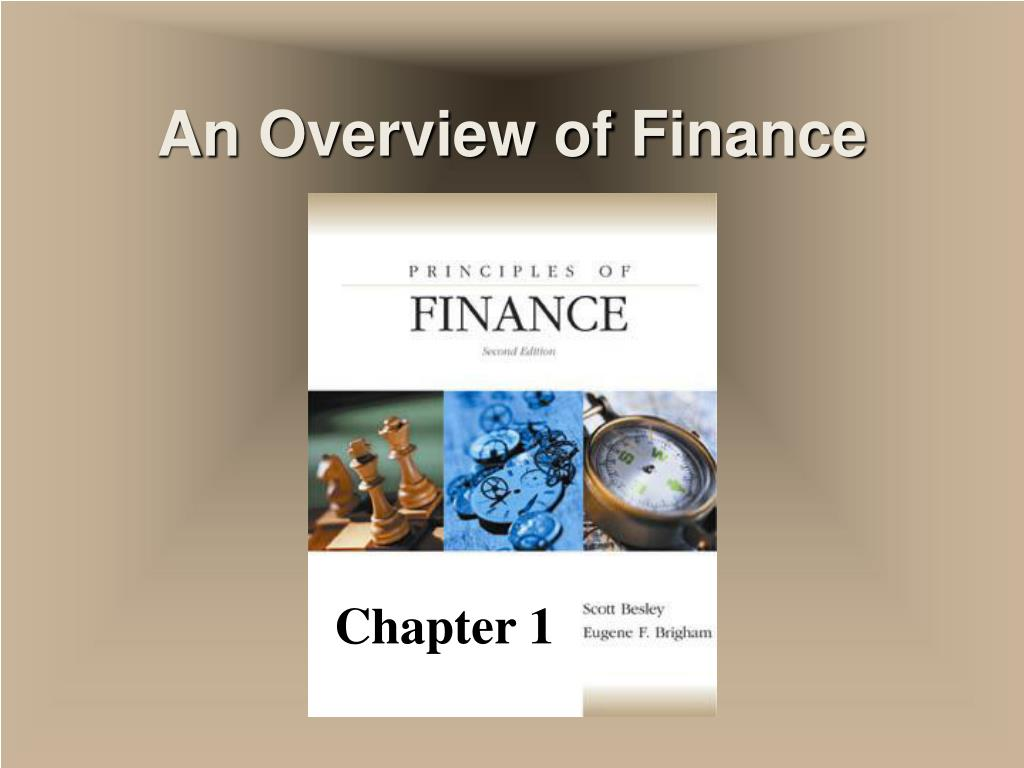 an overview of finance l.