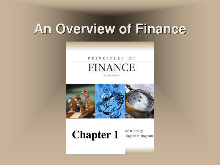 an overview of finance n.
