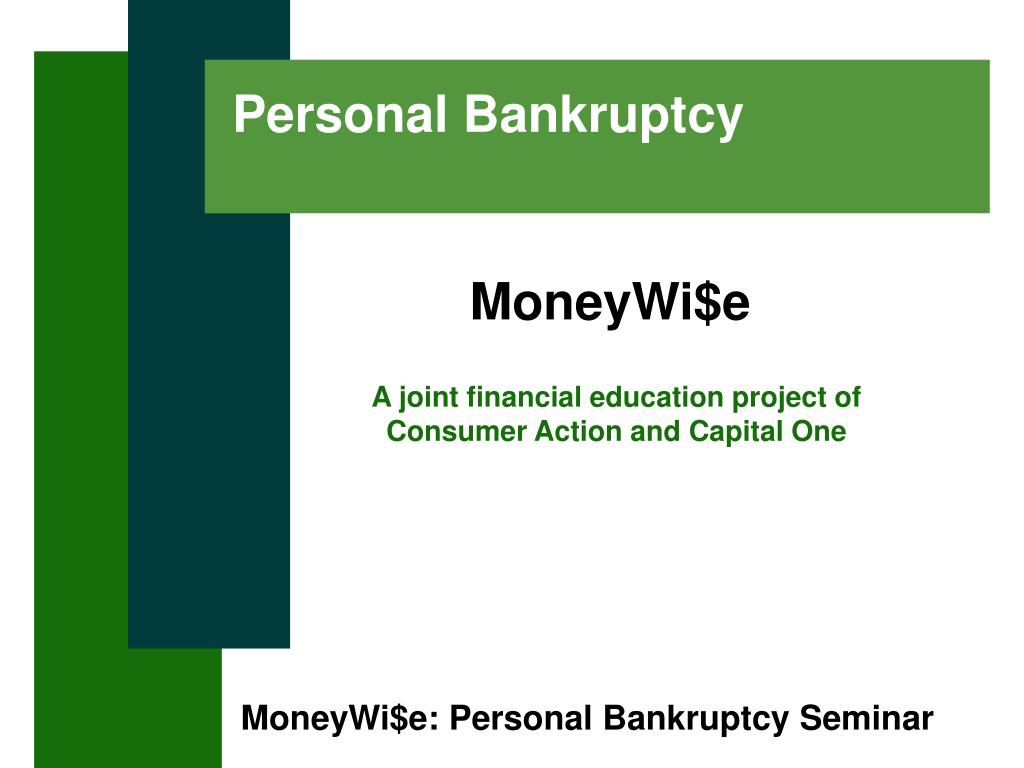 personal bankruptcy l.
