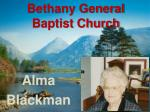 bethany general baptist church