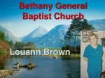 bethany general baptist church6