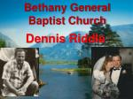 bethany general baptist church7