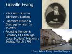 greville ewing