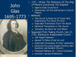john glas 1695 177369