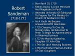robert sandeman 1718 1771
