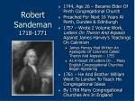 robert sandeman 1718 177176