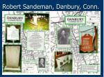 robert sandeman danbury conn