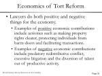 economics of tort reform32