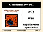 globalization drivers i