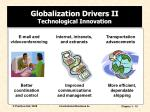 globalization drivers ii technological innovation