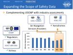 expanding the scope of safety data