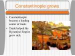 constantinople grows