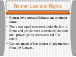 roman law and rights