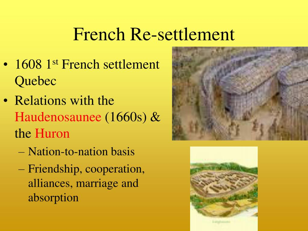 French Re-settlement