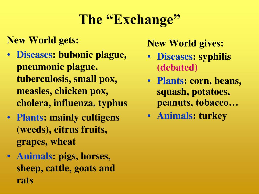 New World gets: