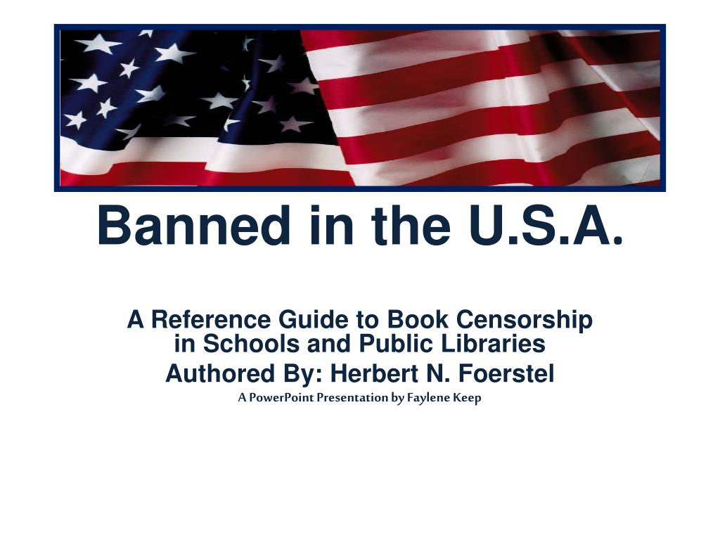 banned in the u s a l.