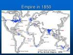 empire in 1850