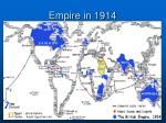 empire in 1914