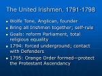 the united irishmen 1791 1798