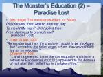 the monster s education 2 paradise lost