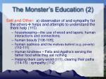 the monster s education 2