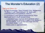 the monster s education 21