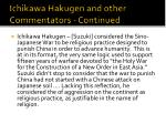 ichikawa hakugen and other commentators continued14
