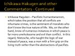 ichikawa hakugen and other commentators continued15